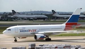 Avion Aeroflot Rusia