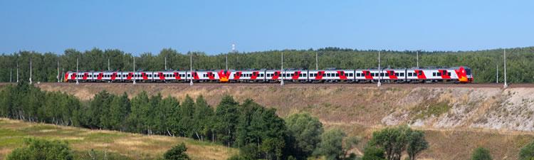 Trein in Rusland 1