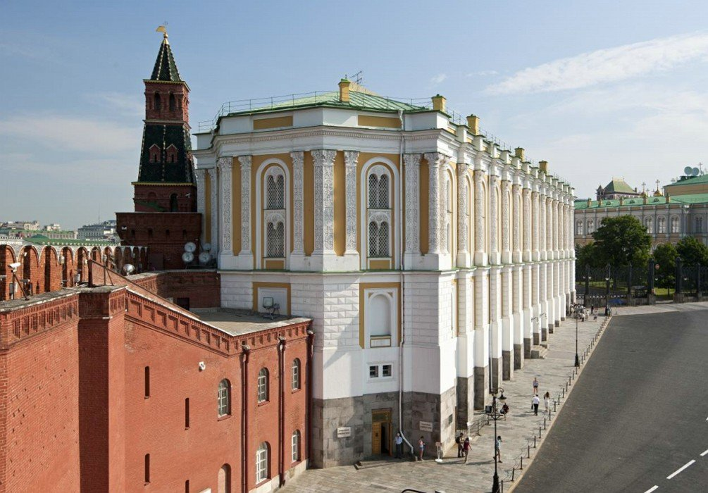 The Armory Building - MOscow Kremlin