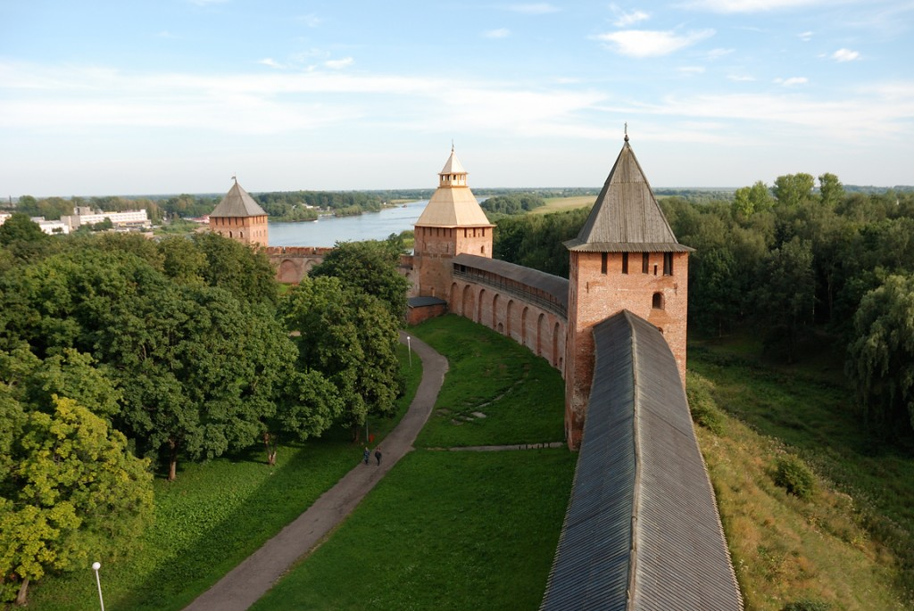Kremlin Velikiy Novgorod Detinets