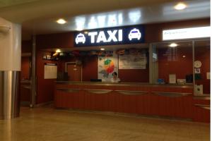 Taxi Büro am Flughafen Sheremetyevo