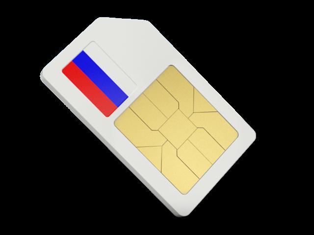 Russische SIM-Karte