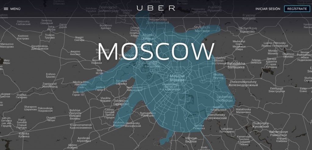 Uber - Moscow