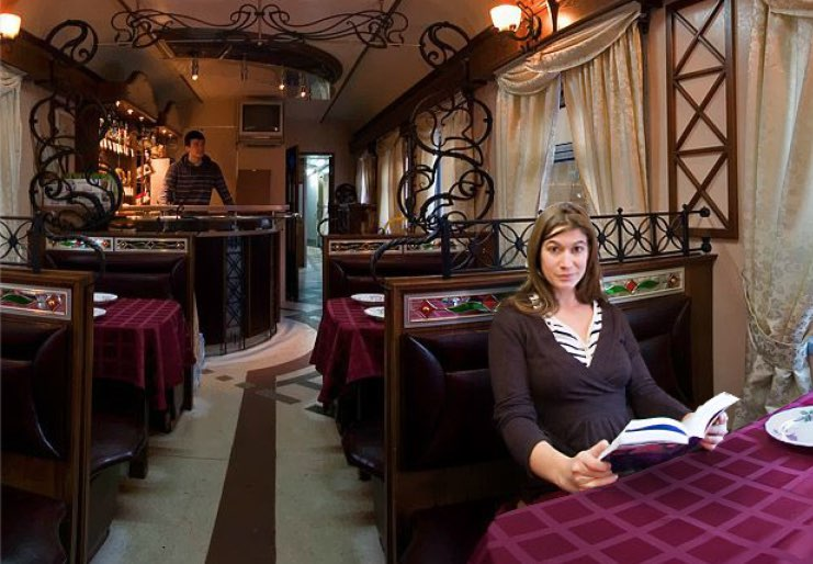 Restaurant train Rossiya
