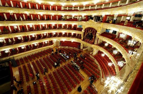 Bolshoi Theater - Historical main stage