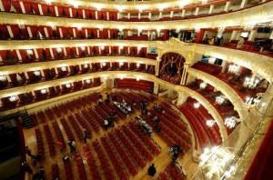 Bolshoi Theater in Moskau - Die Hauptbühne oder auch historische Bühne