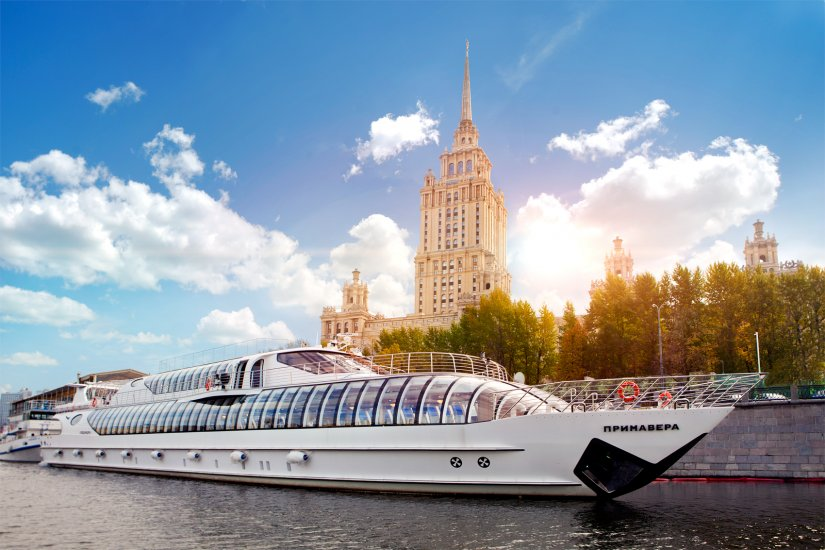 «Radisson Royal Moscow» flotilla - Hotel Ukraina 2