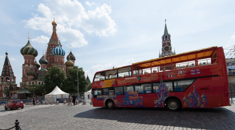 Touristic bus Moscow