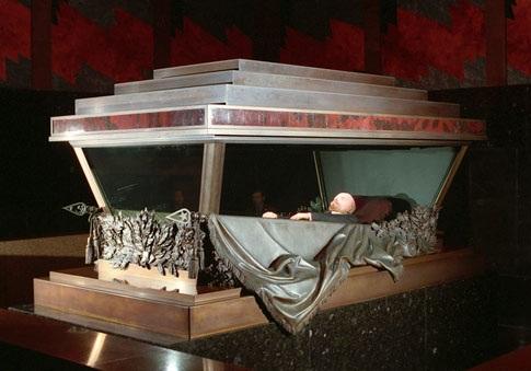 Coffin Lenin