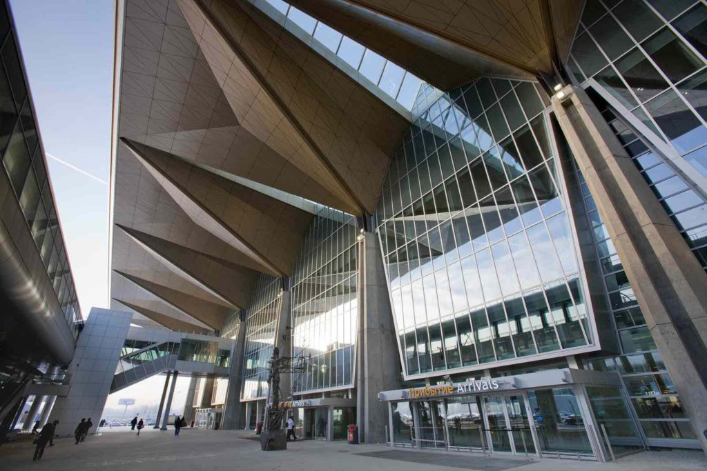 Aeroporto di Pulkovo - Nuovo Terminal 1