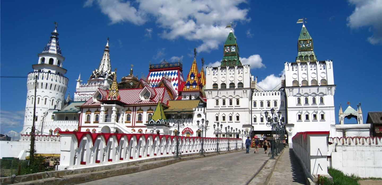 Izmaylovo market in Moscow