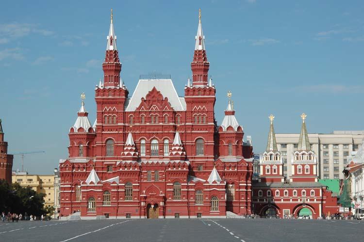 Staatliches Museum der russischen Geschichte in Moskau