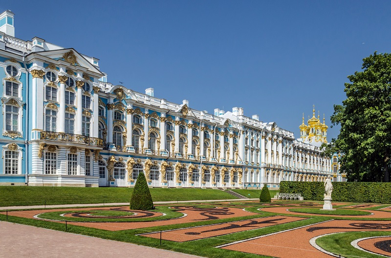 Palace Catherine St. Petersburg - Facade