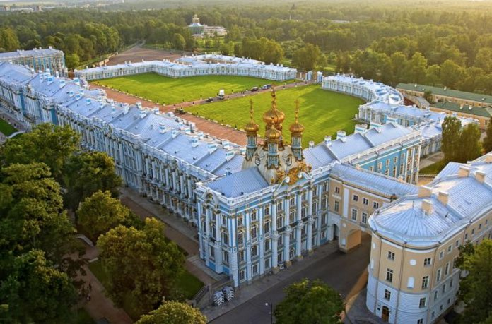 Catherine Palace in Saint Petersburg - General view