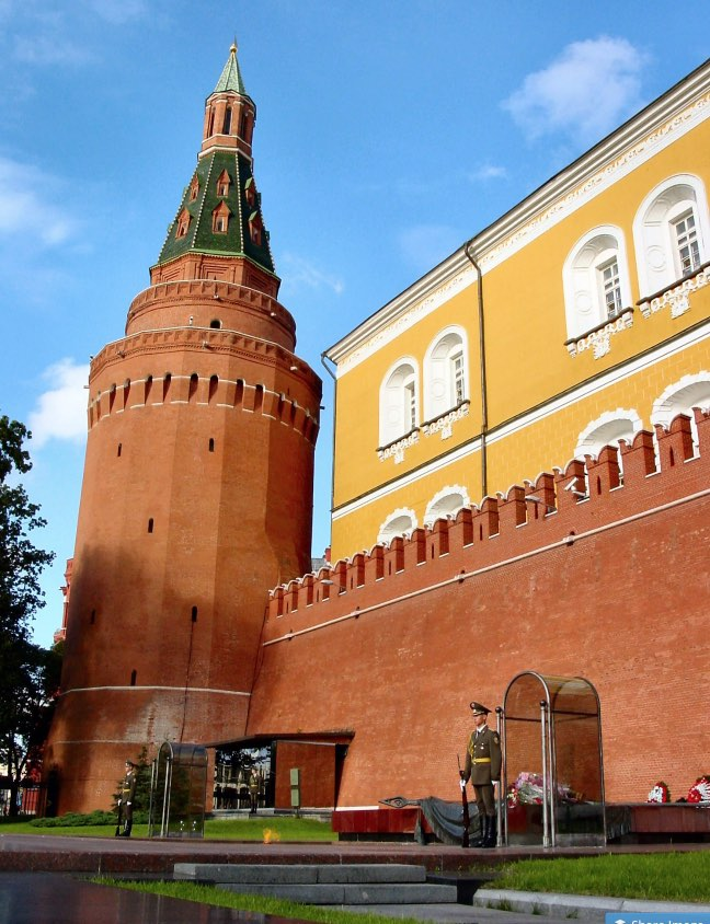 Tombe du soldat inconnu - Jardins Alexandre à Moscou