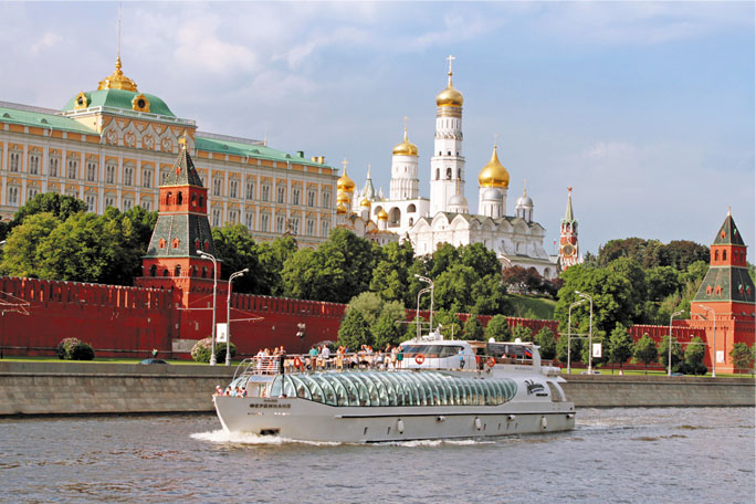Moskva jõe kruiisilaevastik-radison