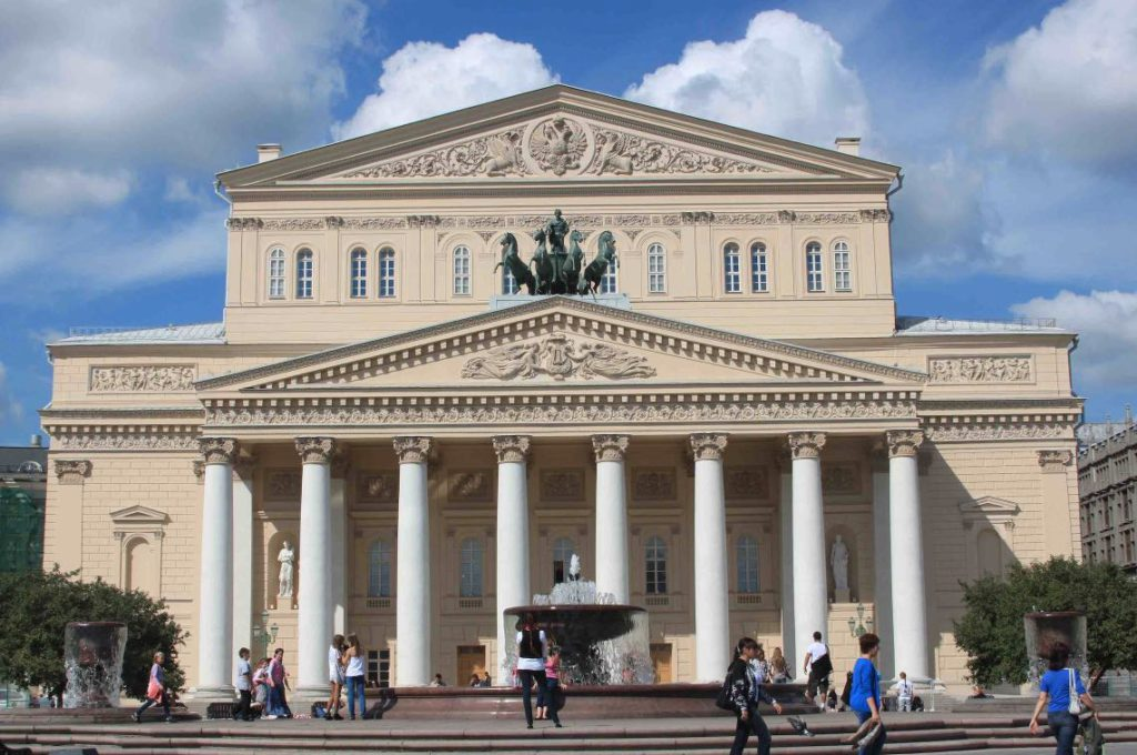 Moskou - Bolshoi-theater