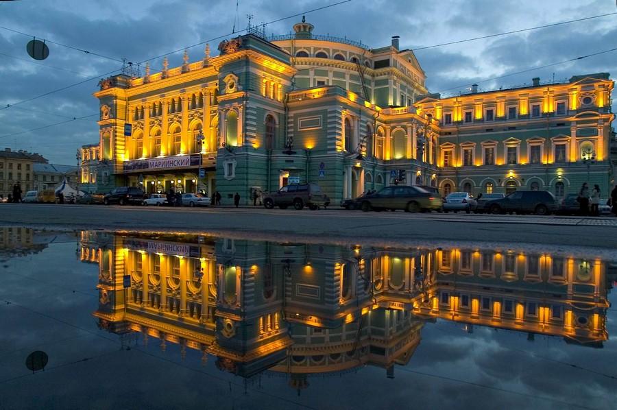 Mariinsky theatre exterior