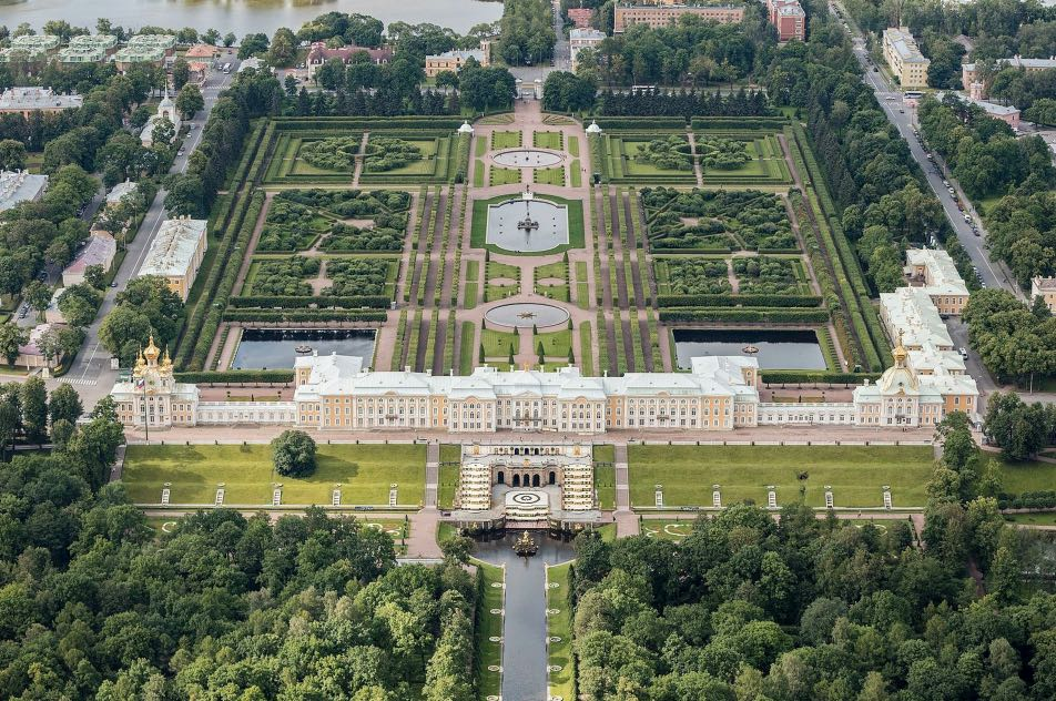 Peterhof parco superiore e inferiore