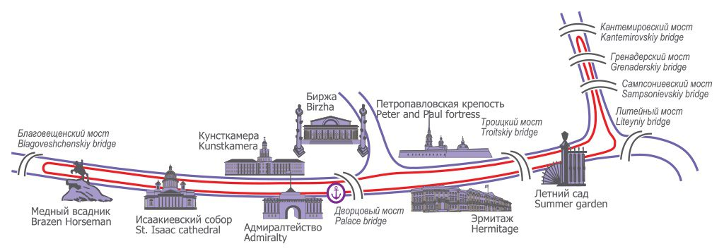 itinerary-night-cruise-bridges-st-petersburg