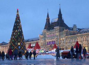 Christmas and New Year in Russia