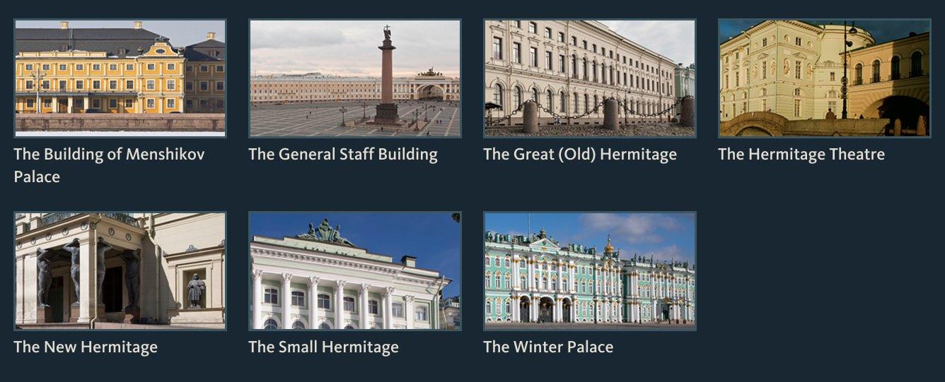 Bâtiments Hermitage
