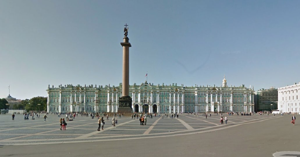 Palace Square - Hermitage - Palazzo d'Inverno