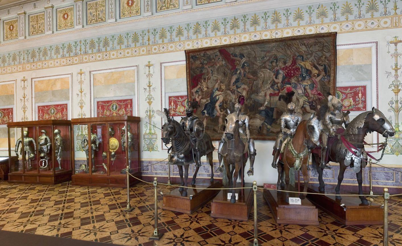 The Knights Room Ermitaż Petersburg