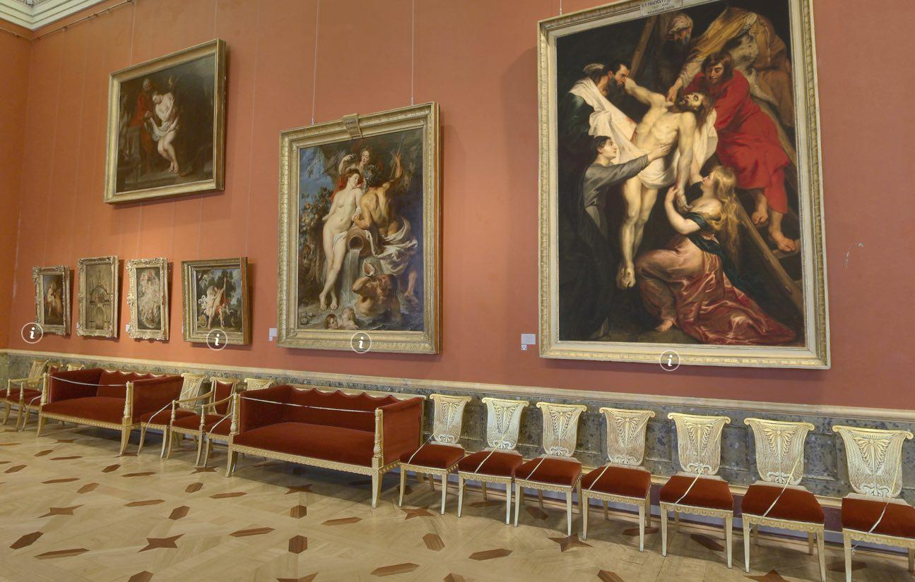 The Rubens Room Ermitaż Petersburg