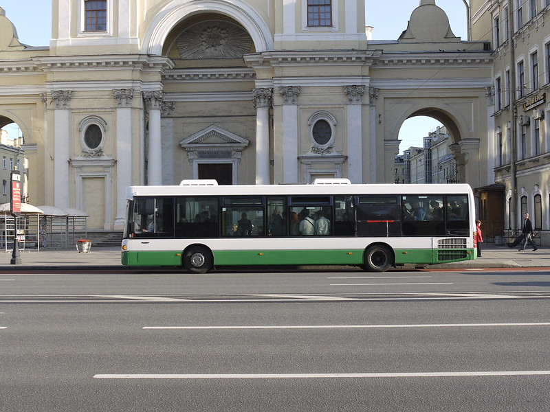 Bus in St. Petersburg