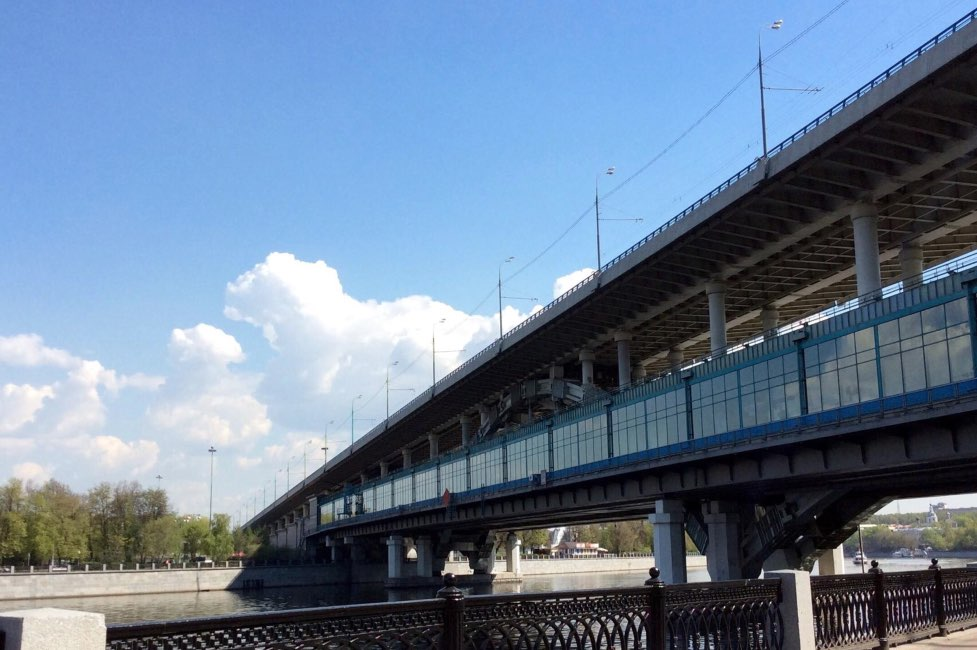 Luzhniki bridge Moscow