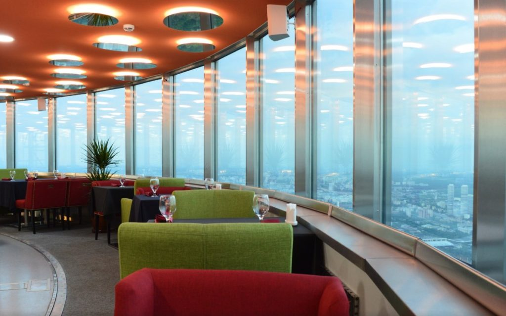 Restaurant Ostankino tower TV Moscow