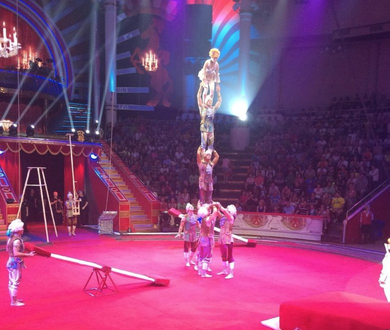 Circus Nikulin in Moscow