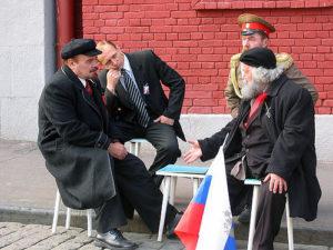 Doppio di Lenin, Stalin e Putin