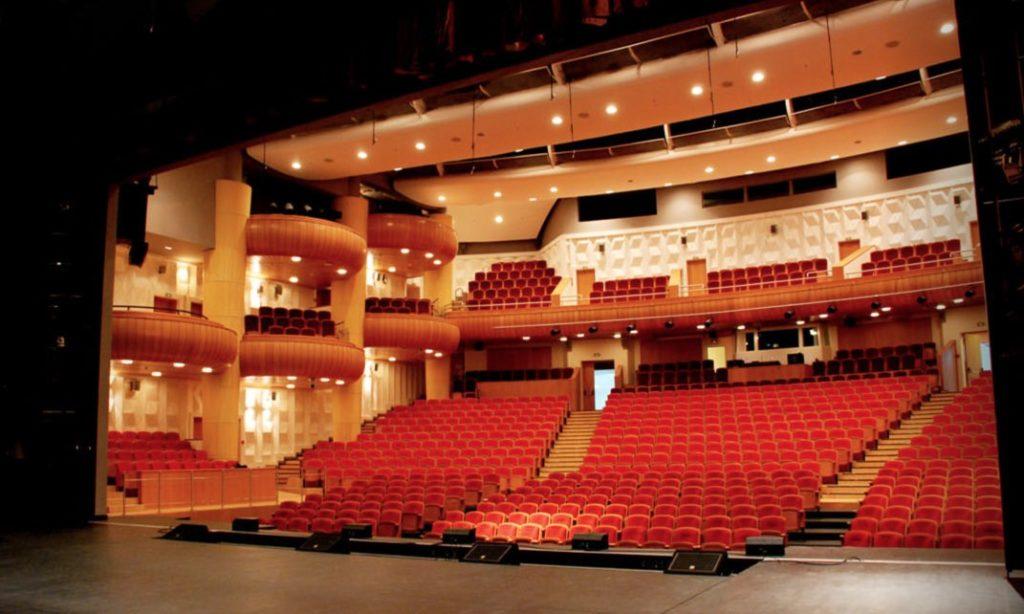Teatro folclore russo show Kostroma interno