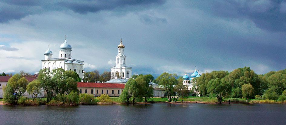 Monastery of St. George Veliky Novgorod