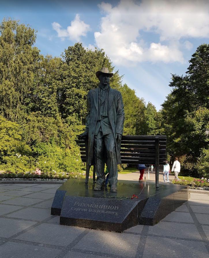 Rachmaninoff Monumento Veliky Novgorod