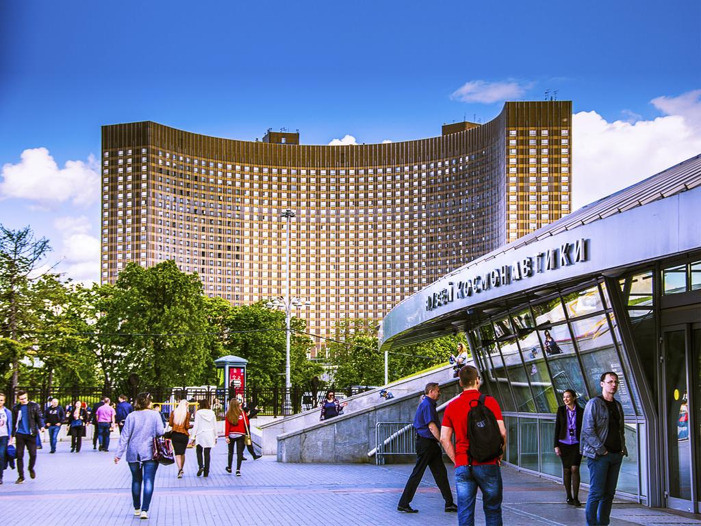 VDNKh Metro Station in Moscow