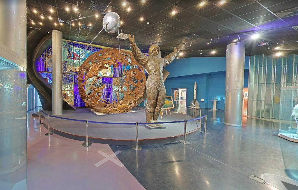 Museo della cosmonautica a Mosca 1