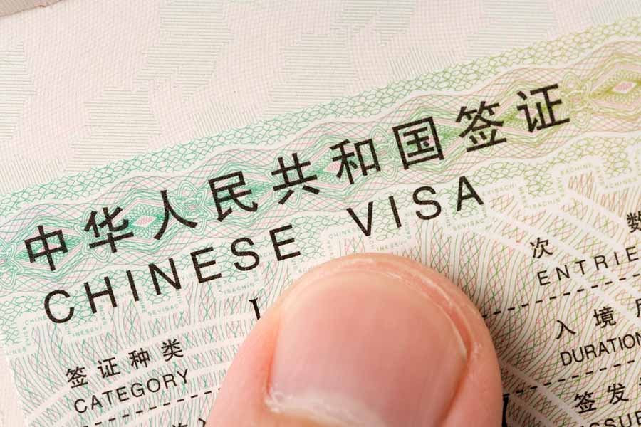 Visa to China - Image de couverture