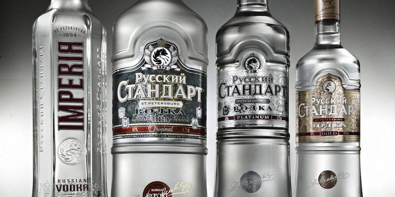 Vodka in Russia
