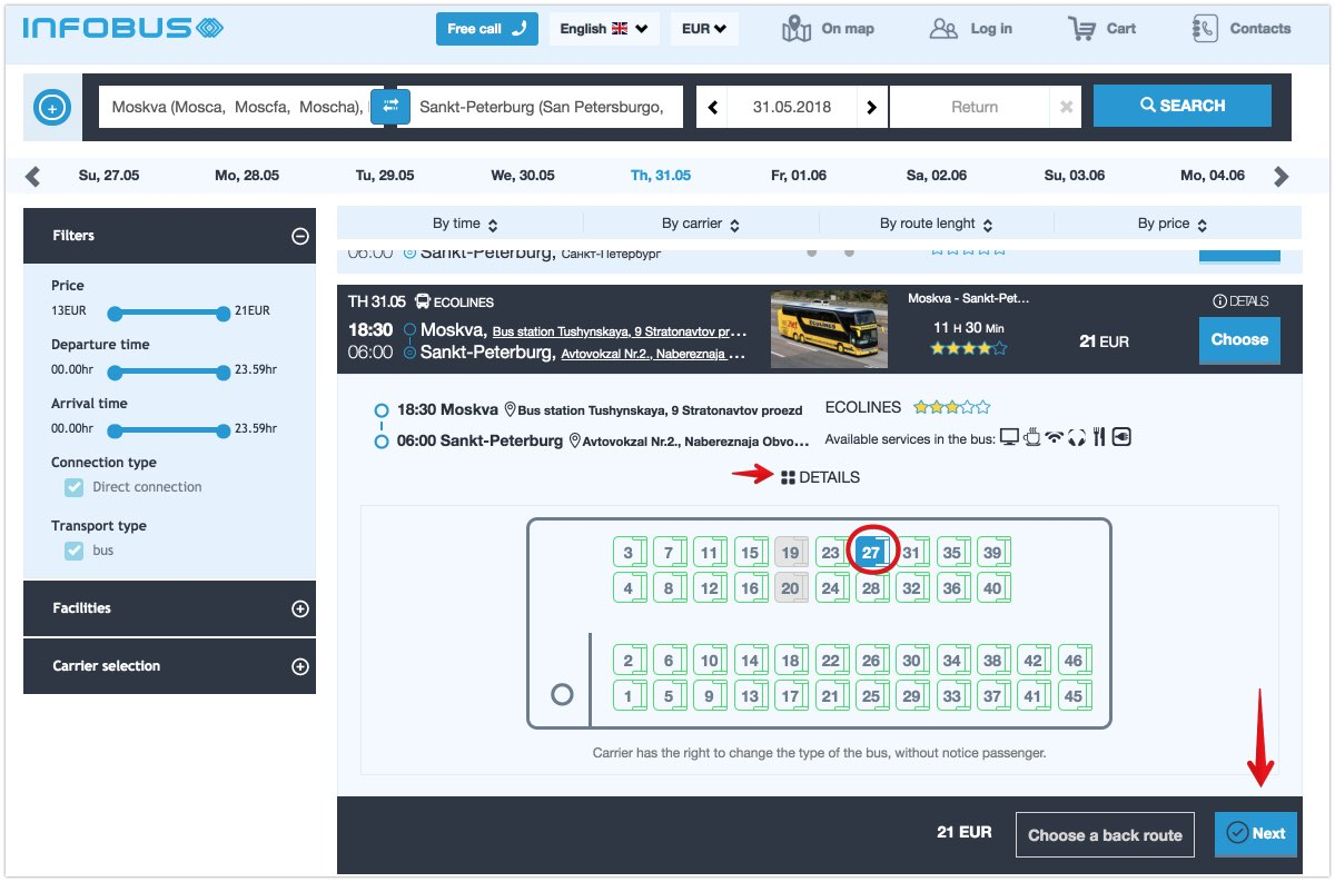 Traveling By Bus Through Russia And How To Buy Tickets Online
