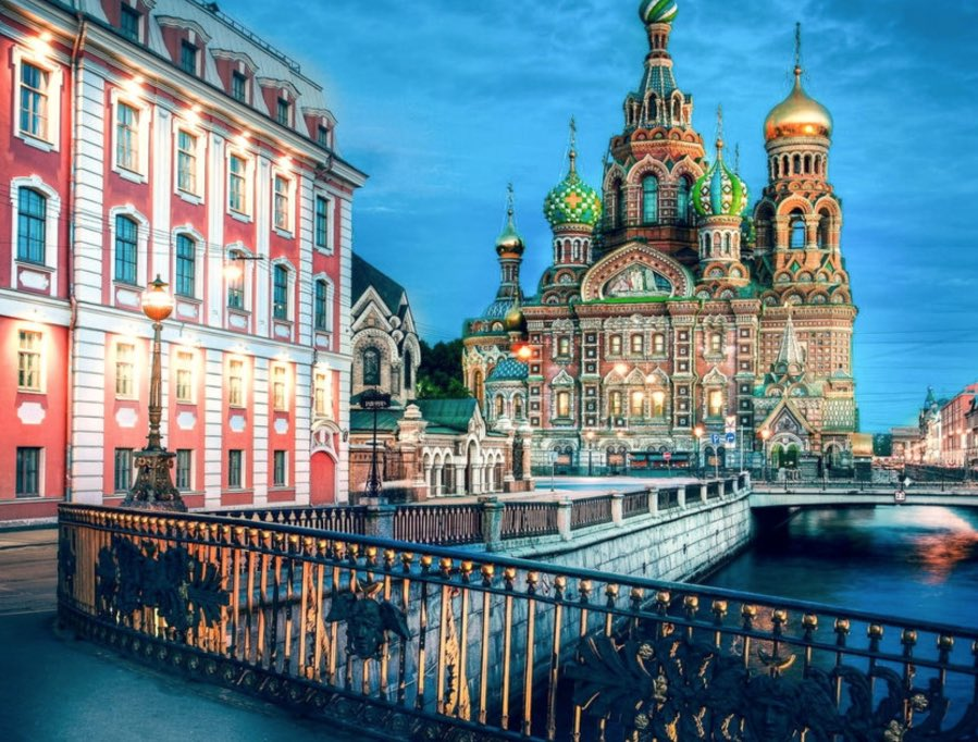 The Church of the Savior on Spilled Blood - Views next to canal