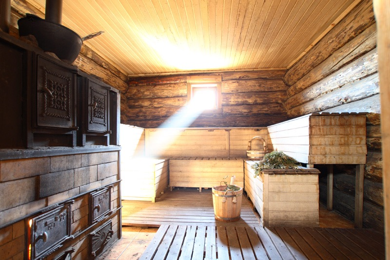 Traditional Russian Banya