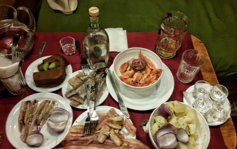Manger et boire à Sandouny Bania