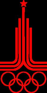 Logo der Olympischen Spiele von Moskau 1980