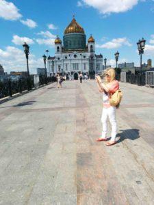 Irena in Christus der Erlöserkathedrale Moskau