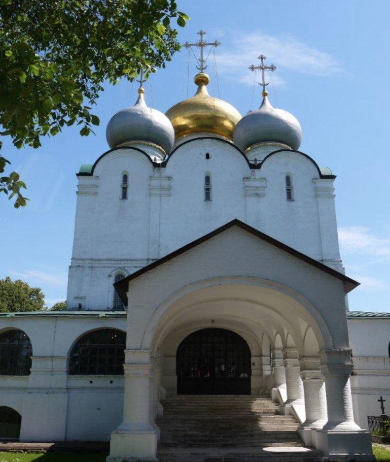 Smolensk Cathedral Moscow - Exterior - Novodevichy Convent