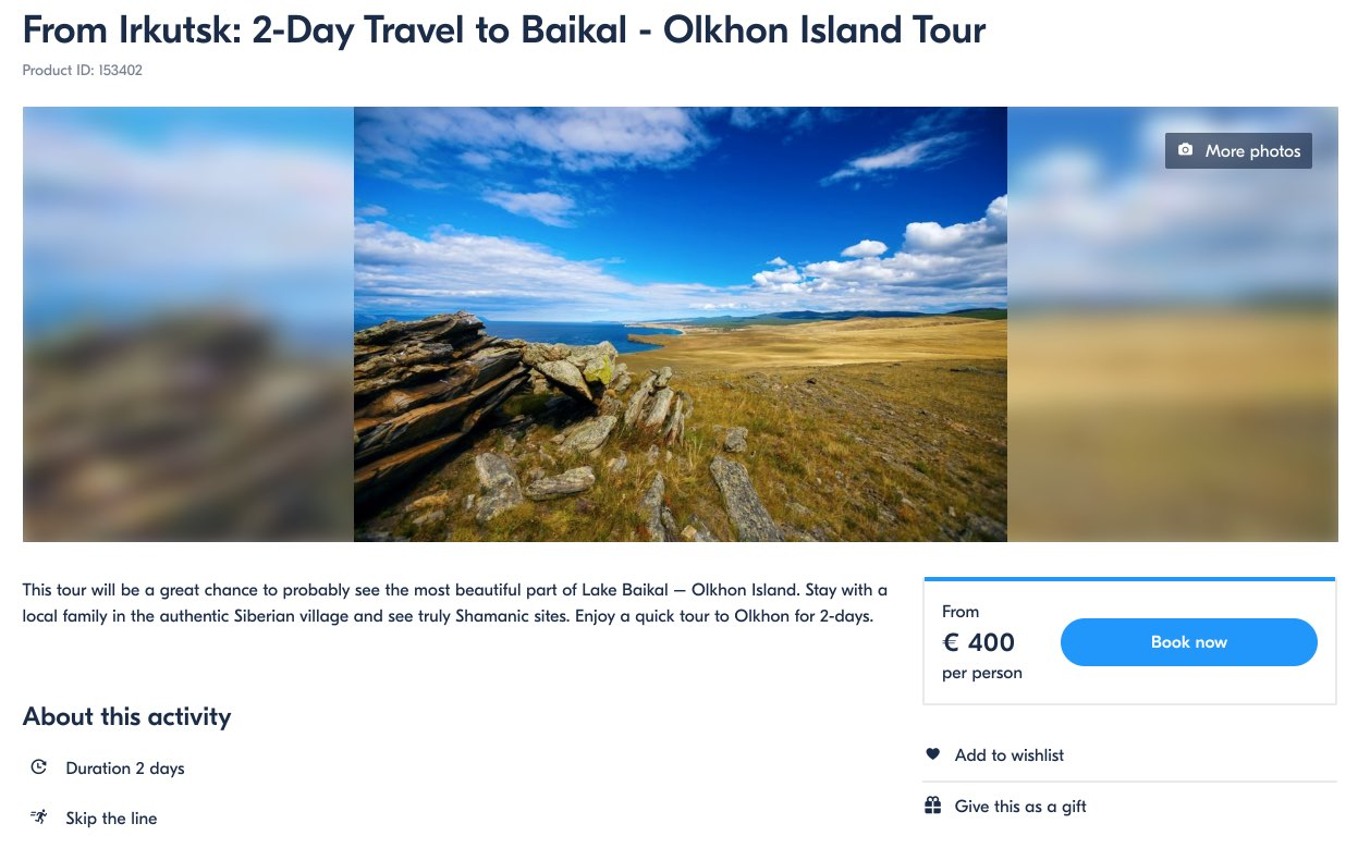 Excursion Olkhon Island from Irkutsk - GetYourGuide