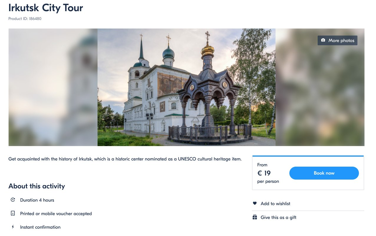 Tour of the city of Irkutsk - GetYourGuide